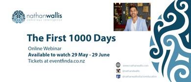 The First 1000 Days - Webinar