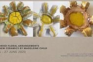 New Ceramics by Madeleine Child: Dried Floral Arrangements