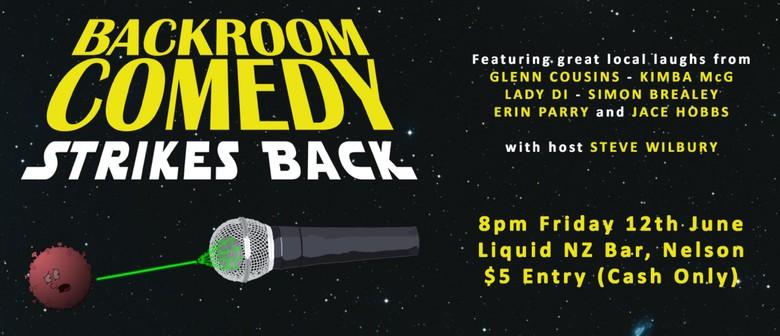 Backroom Comedy Strikes Back!