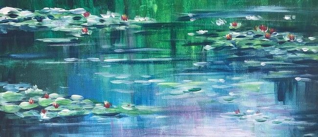 Paint & Chill Night - Water Lily Monet inspired