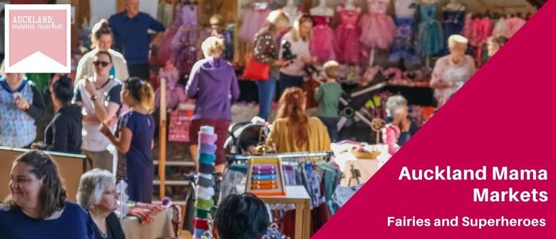 Auckland Mama Markets Fairies & Superheroes - 5th Year