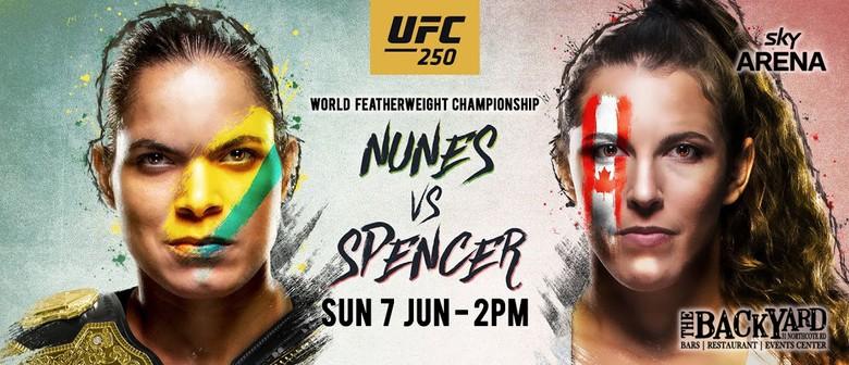 Nunes vs Spenser UFC 250