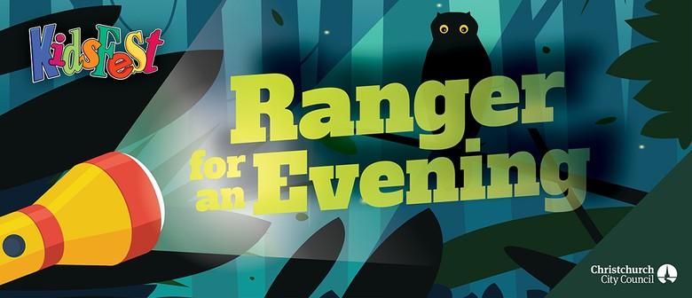 Ranger for an Evening: Victoria Park