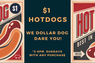 The Pig's $1 Dog Sunday