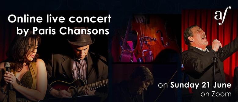 Online Concert by Paris Chansons
