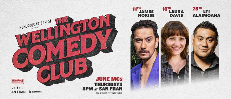 The Wellington Comedy Club - June