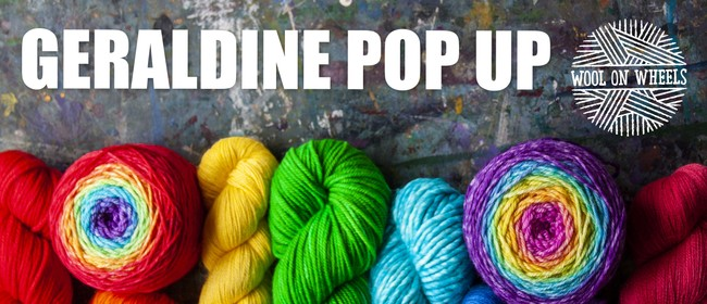 Wool on Wheels Pop Up - Geraldine