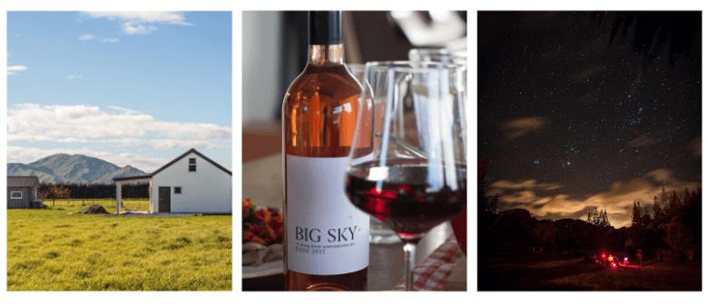 Stargazing at Big Sky Wines