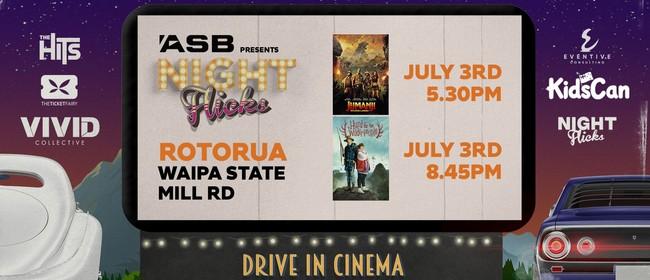 ASB Presents: Night Flicks Drive In Cinema - Rotorua