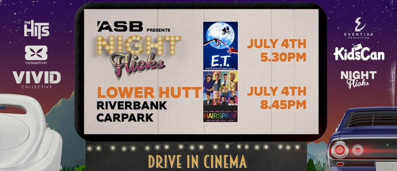 ASB Presents: Night Flicks Drive in Cinema - Lower Hutt