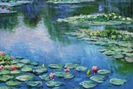 Wine and Paint Party - Monet Waterlilies