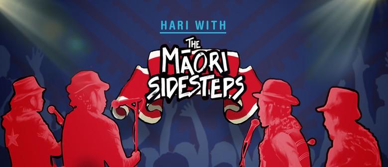 Hari with The Māori Sidesteps