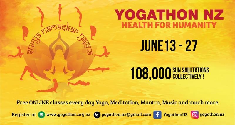 Yogathon New Zealand 2020 - Virtual - Eventfinda