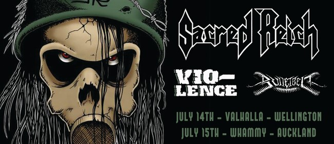 Sacred Reich + Vio-Lence - Auckland: CANCELLED