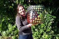 Weave a Big Basket - Creative Flax Weaving/Dyeing Workshop