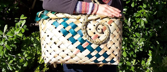 Weave a Flax Shopping Basket - Nelson