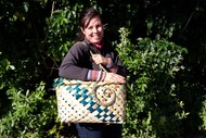 Weave a Flax Shopping Basket - Golden Bay