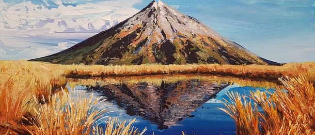 Acrylic Painting - Palette Knife Workshop - Mountain View
