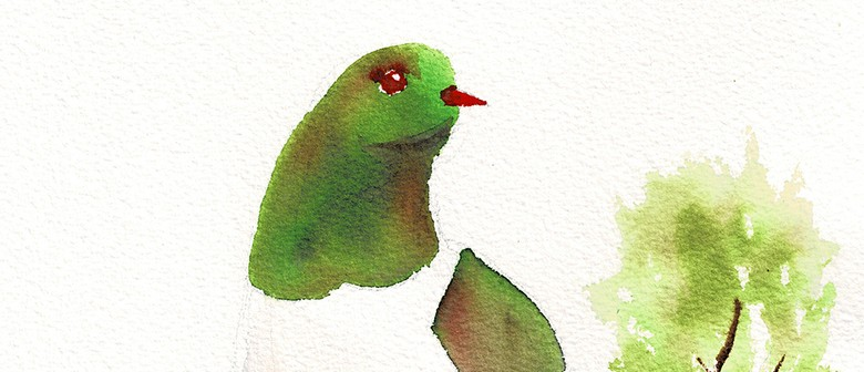 Watercolour & Wine Night - Kereru - Paintvine
