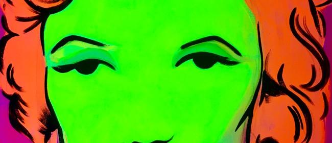 Glow in the Dark Paint Night - Marilyn Monroe - Paintvine