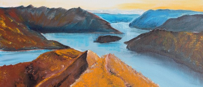 Paint and Wine Night - Roys Peak- Paintvine