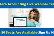 Xero Accounting Live Webinar Training