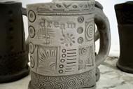 H2 Fun Textured Mugs (CLAY) with Ricki Meaker