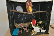 H13 Animals In Winter Diorama With Cath O'brien