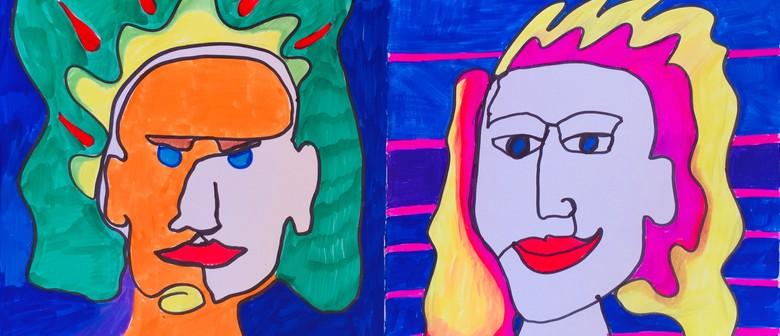 H15 One Line Funky Portrait With Ekarasa Doblanovic
