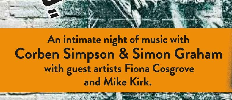 An evening with Corben Simpson & Simon Graham