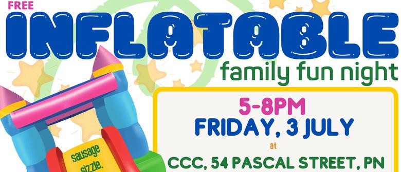 Inflatable Family Fun Night