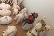 Sculpture Ceramics with Wilhelmiina