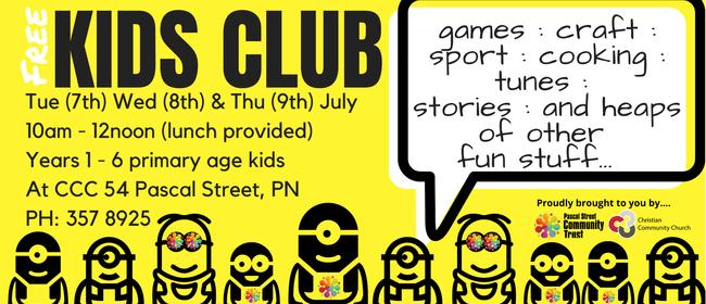 Kids Club  - School Holidays