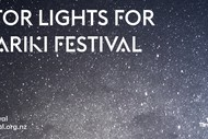 Vector Lights for Matariki Festival