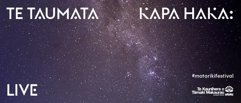 Te Taumata Kapa Haka: Live