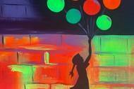 Glow in the Dark Paint Night - Glimmerin Banksy