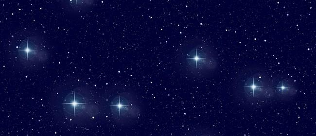 Framed Starry Night Sky