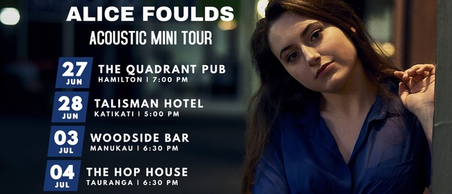 Alice Foulds Acoustic Mini Tour