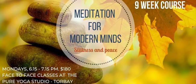 Meditation for Modern Minds