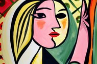 Paint and Wine Night - Picasso Girl