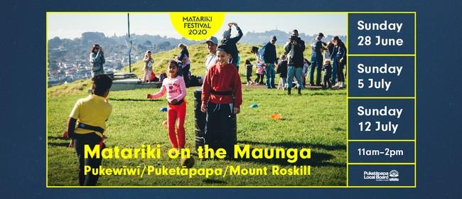 Matariki On The Maunga: Pukewīwī / Puketāpapa / Mt Roskill
