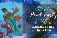 Learn to Paint Your Own Tui with Heart for Art NZ