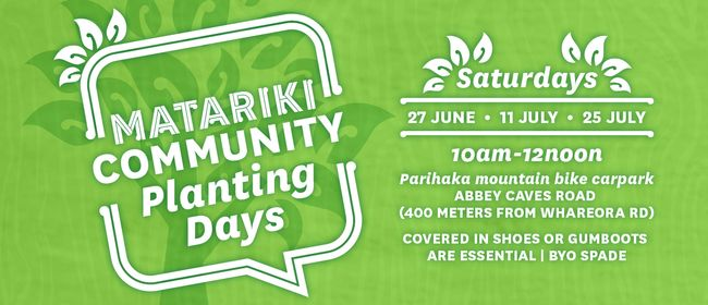 Matariki Community Planting Day
