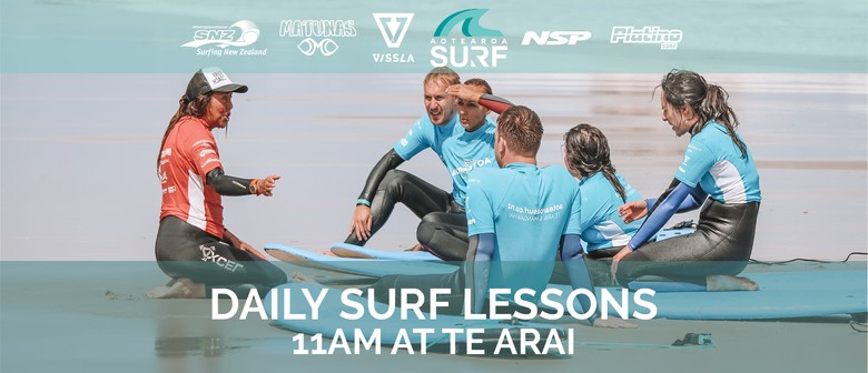 Daily Surf Lesson