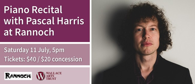 Piano Recital with Pascal Harris at Rannoch