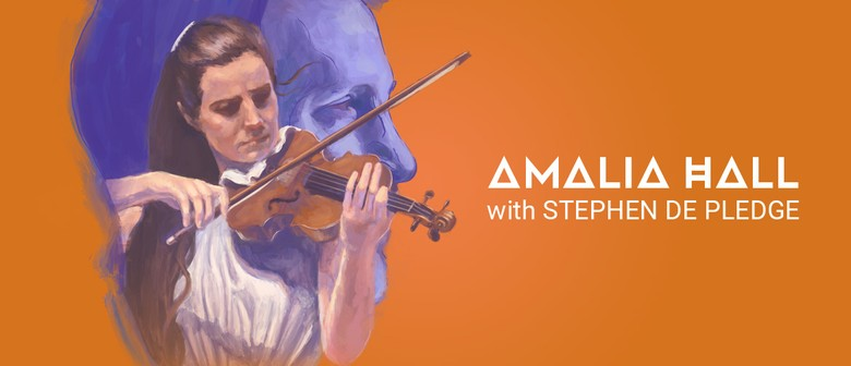 Amalia Hall with Stephen De Pledge