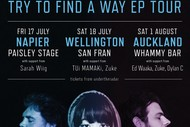 KITA - Try To Find A Way NZ Tour, Wellington