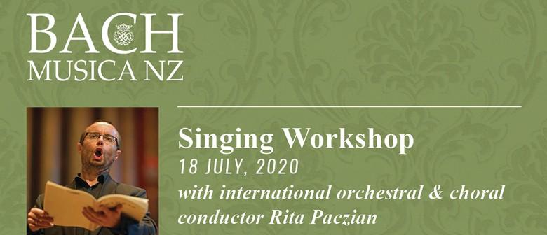 Bach Musica NZ Singing Workshop: Mozart Requiem