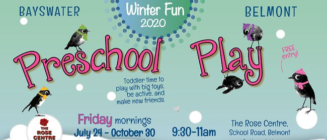 Winter Fun Preschool Play