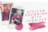 African Drumming with Jennifer
